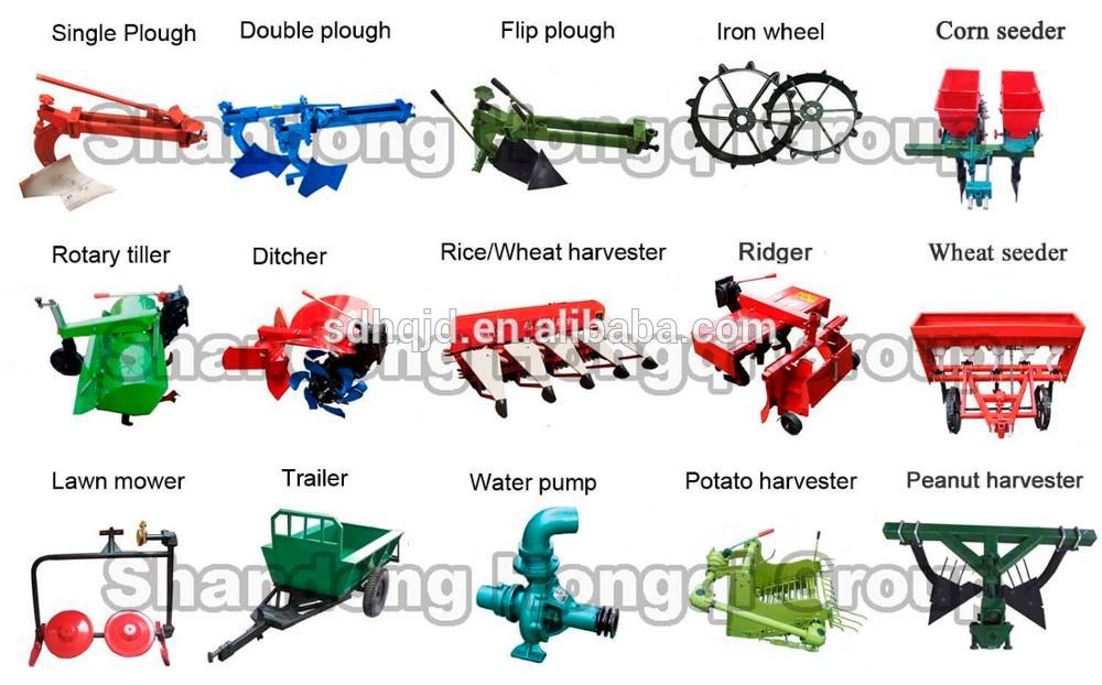 Shandong 8-15hp engine tractor agricultural machinery power tiller with power tiller price