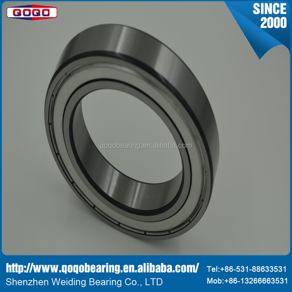 High speed and low noise bearing with high quality and deep groove ball bearing for electric motorcycle