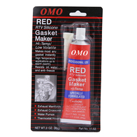 gasket maker RTV Red silicone glue