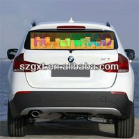 Popular design equalizer el panel Wholesale Sound Activated Flashing EL Car Stickers