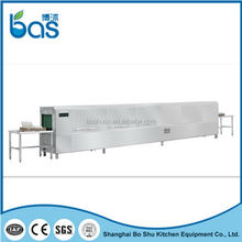 China manufacture First Choice canteen rack type dishing washing machine BS560B