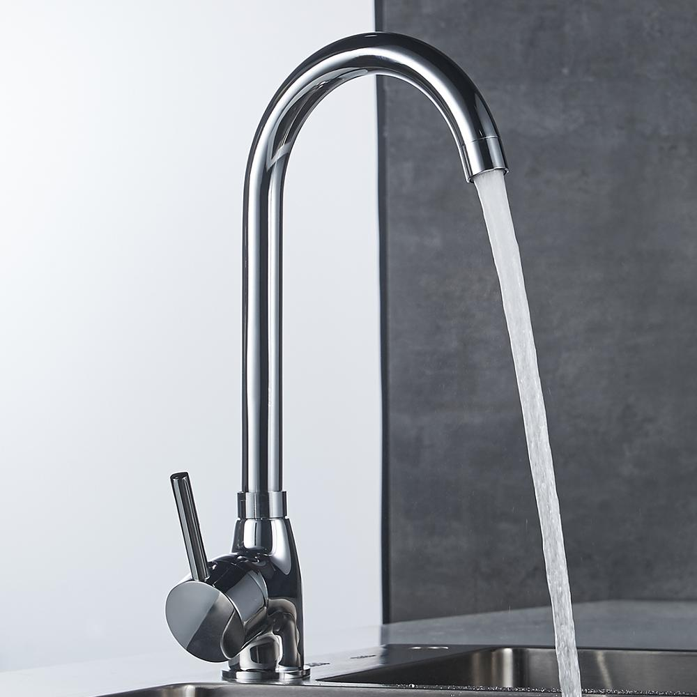 Factory produce home simple design kitchen faucet pull down