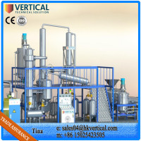 VTS-DP Used Black Waste Oil Filtration Machine Mini Edible Oil Refinery Transformer Oil Recycling Machine