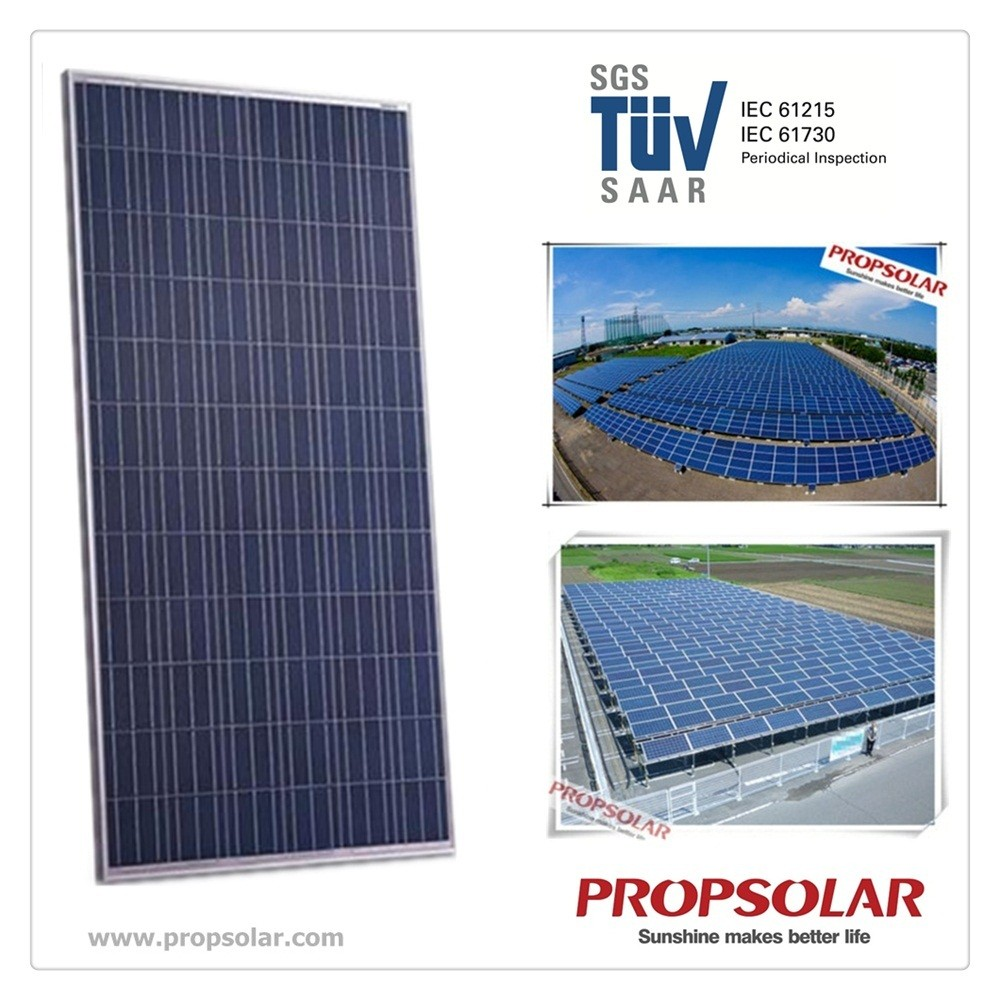 Propsolar SGS,TUV certificate Poly solar panel 300w with cheap price