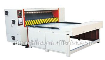 [RD-MQS1200-1600]Semi auto chain feeding rotary manual die cutting machine
