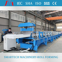 Adjustable prefabricated wall metal roofing corrugated roll forming machine