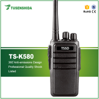 Factory price handheld walkie talkie TS-K580 single band two way transceiver radio indoor or outdoor