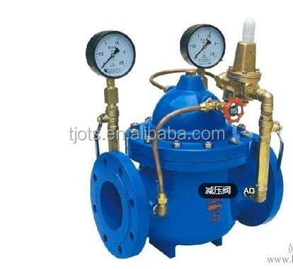 ductile iron pressure reduce valve ( PRV) for water