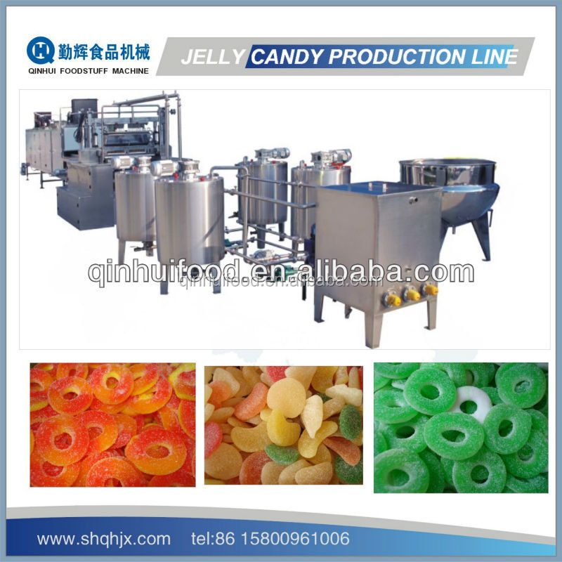 150kg automatic gummy candy machines