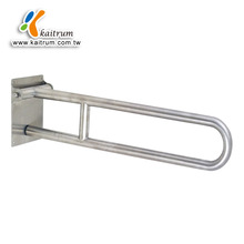 Bathroom Stainless Steel Swing Up Fold Away Toilet Grab Bar