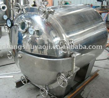 Cylindrical Type Vaccum Dryer