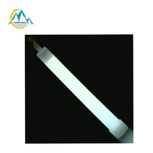 MSDS proved 6 inch white glow sticks customized logo printed light sticks