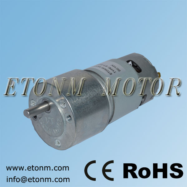 Big size 12v dc motor with gear reduction dricking machine dc gear motor