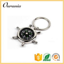Customized Manufacturer Custom Compass Keychains Keychain