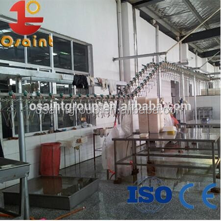 Best price and big promotion chicken slaughter production line