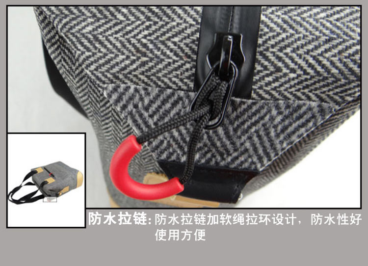 Waterproof Laptop handle bag Type and Nylon Material