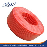 PU1612 Ningbo factory supply 12mm red pu plastic pipe