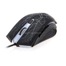 BG158 USB Optical 6 Buttons Wired Gaming Game Mouse Mice for PC
