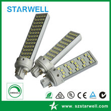 CE SAA ROHS Listed G24 LED PL light