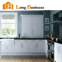 LB-DD1175 High gloss lacquer kitchen cabinet with quality doors and hardware in China