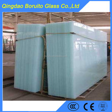 Milky color laminated glass price