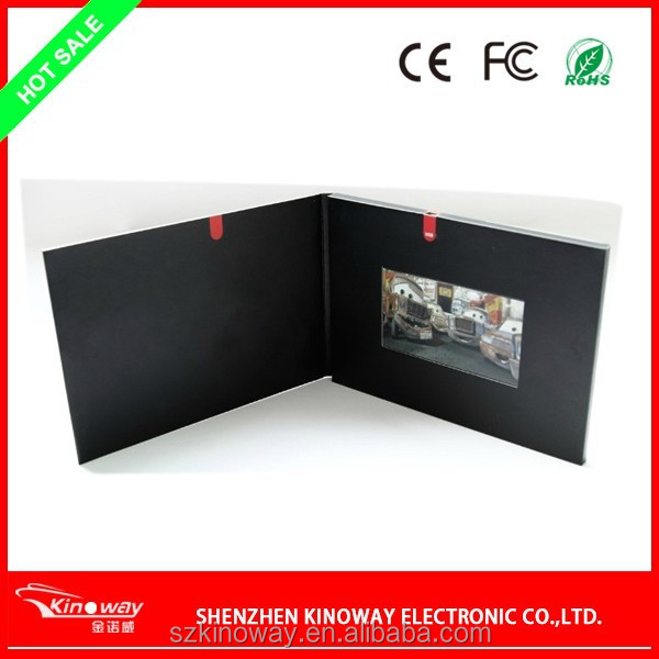 "3.5"" High Quality Sd Card Video Recorder,Led Business Card,Promotional Video Card"