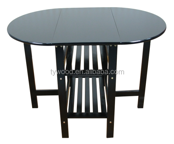 Butterfly leaf dining table with round appearance buy for Round table with butterfly leaf