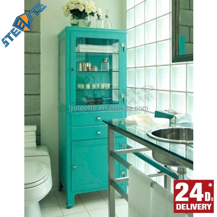 Modern waterproof metal storage bathroom cabinet buy for Waterproof bathroom cabinets