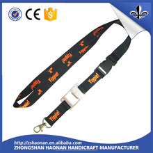 Custom standard size neck lanyards free samples