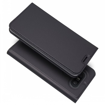 Free Samples Ultra Thin PU Leather Magnetic Flip Cover Stand Leather Cover For LG Q8 Case