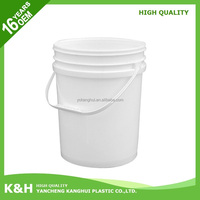 Hot selling 5 gallon water container 20l plastic pail 5 gallon bucket mold with low price