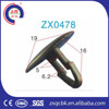 Good Quality Plastic Push Rivets