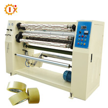 Bopp Adhesive Printed Sealing Tape Slitting Rewinding Machine