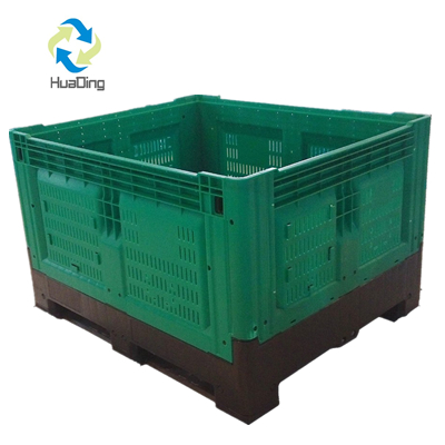 collapsible plastic box pallets industrial bulk containers bulk tote containers