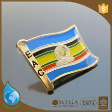 Hot sale round lapel pin badges emblems