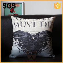 new designs heat fransfer printing outdoor canvas cushion cover for chair seat