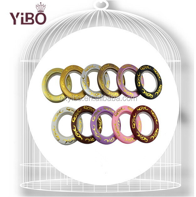 2017 Hot Sale YiBo 628 series Home Decors for 74mm Outer Diameter Curtain Eyelet Rings