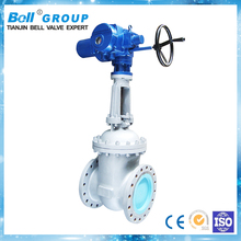 Electric 6 inch pn16 cast iron stem gate valve prices