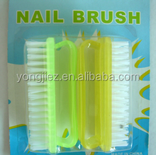 Durable Plastic polish wide Nail Cleaning Dust Brush for Nail cleaning