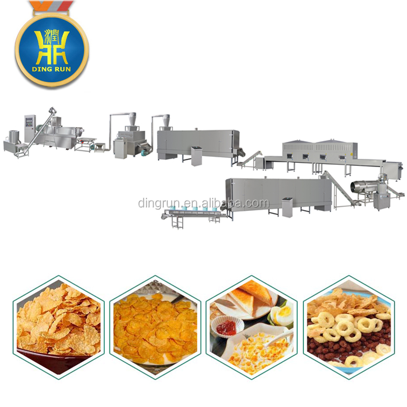 automatic small breakfast cereal making equipment price