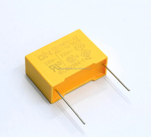 Electronic circuit box mkp film capacitors x2 0.22uf 275vac manufacturer