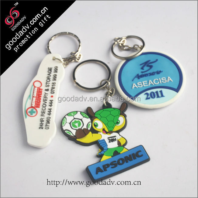 Guangzhou Factory Professional Customized souvenir keychain