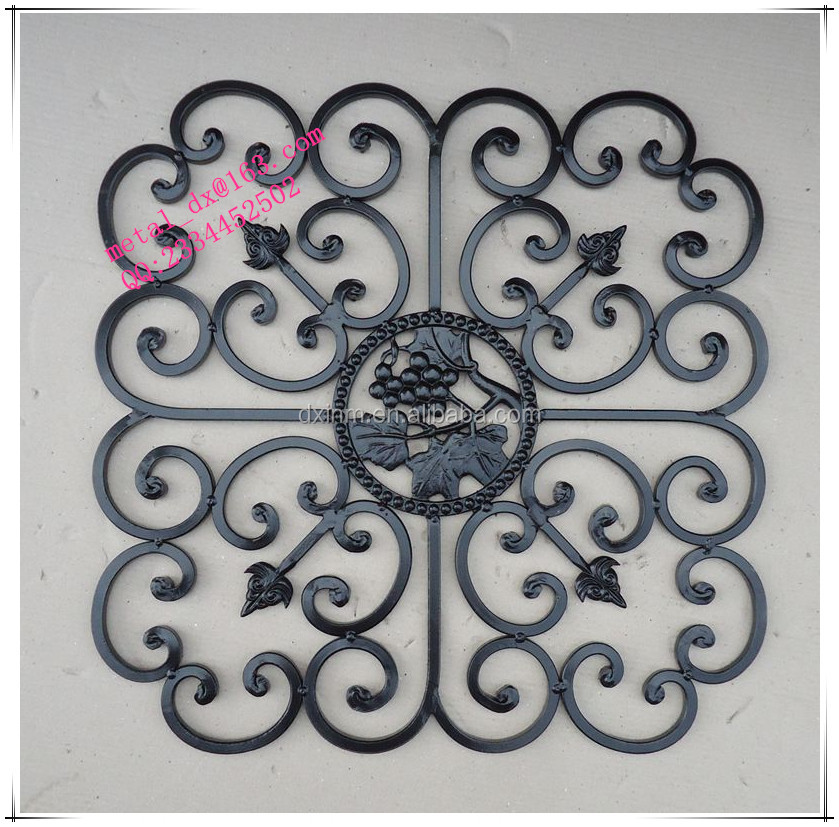 distributor forging steel ornament rose flower gate decorative artistic