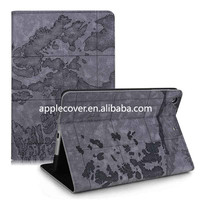 Premium Leather Stand Case For iPad Mini 2/1 (Top Map Cover!)