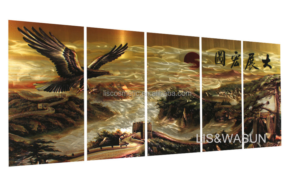 Top selling Modern 3D metal wall arts ,canvas wall arts for home decoration