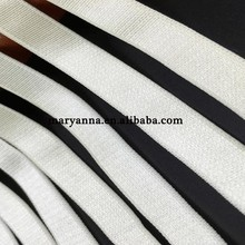 15mm black white multi custom colored braided elastic bands for bra
