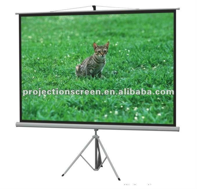 FUTURE SCREEN tripod stand projector screen for global customers wholesale customized any size