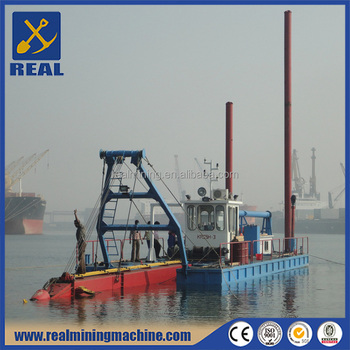 Gold dredger manufacturer cutter suction sand dredger / drague / dragueur