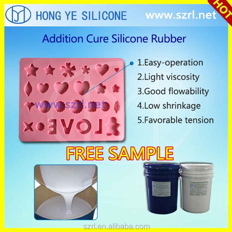 Pourable or Brushable RTV-2 Liquid Silicone Rubber for Resin Crafts Molds Making