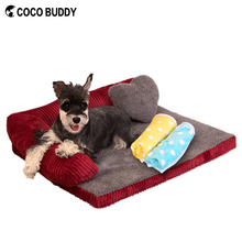 2016 New Design Elevated Memory Foam Sofa Luxury Dog Bed